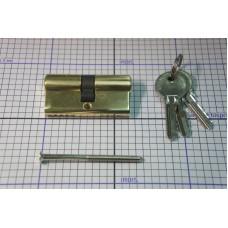 Личинка замка 30.5/30.5 латунь ключ/ключ Арт. № 916.91.020