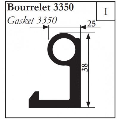 Уплотнитель 15948 EPDM (аналог Gasket 3350)