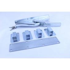 Шпингалет д/ворот 902 16х16 оц. FUHR с ключом Арт. ТТ902Z16V